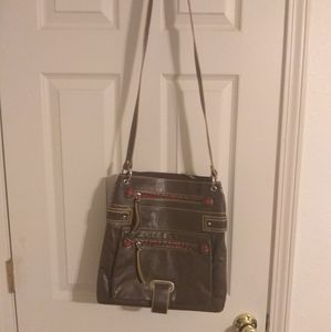 Candies brown leather purse